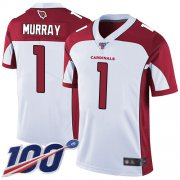 Wholesale Cheap Nike Cardinals #1 Kyler Murray White Men's Stitched NFL 100th Season Vapor Limited Jersey