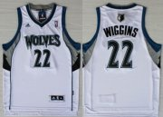 Wholesale Cheap Minnesota Timberwolves #22 Andrew Wiggins Revolution 30 Swingman White Jersey