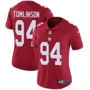 Wholesale Cheap Nike Giants #94 Dalvin Tomlinson Red Alternate Women's Stitched NFL Vapor Untouchable Limited Jersey