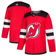Wholesale Cheap Adidas Devils Blank Red Home Authentic Stitched Youth NHL Jersey