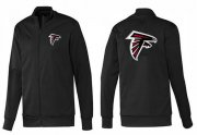 Wholesale Cheap NFL Atlanta Falcons Team Logo Jacket Black_1