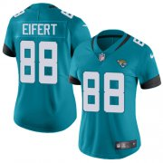 Wholesale Cheap Nike Jaguars #88 Tyler Eifert Teal Green Alternate Women's Stitched NFL Vapor Untouchable Limited Jersey