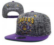 Wholesale Cheap NBA Los Angeles Lakers Snapback Ajustable Cap Hat XDF 030