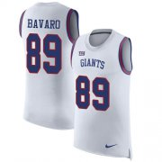 Wholesale Cheap Nike Giants #89 Mark Bavaro White Men's Stitched NFL Limited Rush Tank Top Jersey