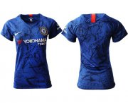 Wholesale Cheap Women's Chelsea Blank Home Soccer Club Jersey