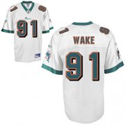 Wholesale Cheap Dolphins #91 Cameron Wake White Stitched NFL Jersey