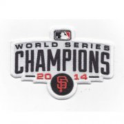 Wholesale Cheap Stitched 2014 San Francisco Giants MLB World Series Champions Logo Jersey Sleeve Patch