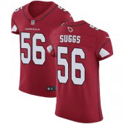 Wholesale Cheap Nike Cardinals #56 Terrell Suggs Red Team Color Men's Stitched NFL Vapor Untouchable Elite Jersey