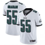 Wholesale Cheap Nike Eagles #55 Brandon Graham White Men's Stitched NFL Vapor Untouchable Limited Jersey
