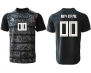 Wholesale Cheap Mexico Personalized Black Soccer Country Jersey