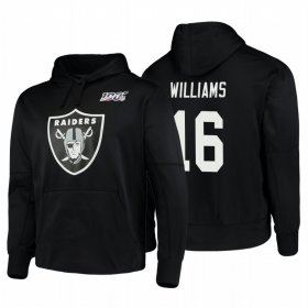 Wholesale Cheap Las Vegas Raiders #16 Tyrell Williams Nike NFL 100 Primary Logo Circuit Name & Number Pullover Hoodie Black