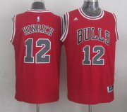 Wholesale Cheap Chicago Bulls #12 Kirk Hinrich Revolution 30 Swingman 2014 New Red Jersey