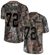 Wholesale Cheap Nike Vikings #72 Ezra Cleveland Camo Men's Stitched NFL Limited Rush Realtree Jersey