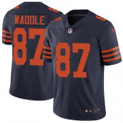 Wholesale Cheap Nike Bears #87 Tom Waddle Navy Blue Alternate Men's Stitched NFL Vapor Untouchable Limited Jersey