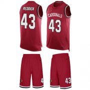 Wholesale Cheap Nike Cardinals #43 Haason Reddick Red Team Color Men's Stitched NFL Limited Tank Top Suit Jersey