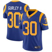 Wholesale Cheap Nike Rams #30 Todd Gurley II Royal Blue Alternate Youth Stitched NFL Vapor Untouchable Limited Jersey