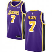 Wholesale Cheap Men's Los Angeles Lakers #7 JaVale McGee Purple Nike NBA Association Edition Authentic Jersey