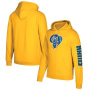 Wholesale Cheap Los Angeles Rams Mitchell & Ness Classic Team Pullover Hoodie Gold