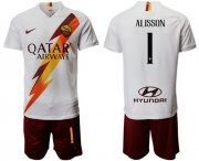 Wholesale Cheap Roma #1 Alisson Away Soccer Club Jersey