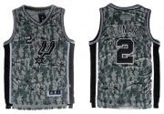 Wholesale Cheap San Antonio Spurs #2 Kawhi Leonard Revolution 30 Swingman Camo Jersey