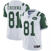 Wholesale Cheap Nike Jets #81 Quincy Enunwa White Youth Stitched NFL Vapor Untouchable Limited Jersey