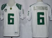 Wholesale Cheap Oregon Ducks #6 DeAnthony Thomas 2013 White Limited Jersey