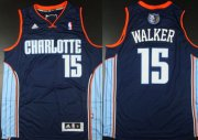 Wholesale Cheap Charlotte Bobcats #15 Kemba Walker Revolution 30 Swingman Blue Jersey