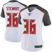 Wholesale Cheap Nike Buccaneers #36 M.J. Stewart White Women's Stitched NFL Vapor Untouchable Limited Jersey