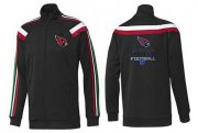 Wholesale Cheap NFL Arizona Cardinals Victory Jacket Black_2