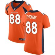 Wholesale Cheap Nike Broncos #88 Demaryius Thomas Orange Team Color Men's Stitched NFL Vapor Untouchable Elite Jersey