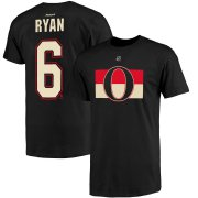 Wholesale Cheap Ottawa Senators #6 Bobby Ryan Reebok Name and Number Player T-Shirt Black