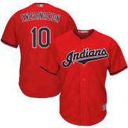 Wholesale Cheap Indians #10 Edwin Encarnacion Red New Cool Base Stitched MLB Jersey