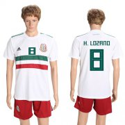 Wholesale Cheap Mexico #8 H.Lozano Away Soccer Country Jersey