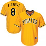 Wholesale Cheap Pirates #8 Willie Stargell Gold Cool Base Stitched Youth MLB Jersey