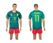 Wholesale Cheap Cameroon #11 Makoun Home World Cup Soccer Country Jersey