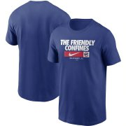 Wholesale Cheap Chicago Cubs Nike Local Nickname T-Shirt Royal