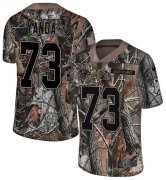 Wholesale Cheap Nike Ravens #73 Marshal Yanda Camo Youth Stitched NFL Limited Rush Realtree Jersey