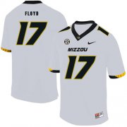 Wholesale Cheap Missouri Tigers 17 Richaud Floyd White Nike College Football Jersey