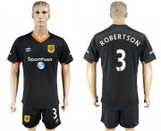 Wholesale Cheap Hull City #3 Robertson Away Soccer Club Jersey