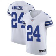Wholesale Cheap Nike Cowboys #24 Chidobe Awuzie White Men's Stitched NFL Vapor Untouchable Elite Jersey