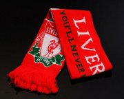 Wholesale Cheap Liverpool Soccer Football Scarf Red