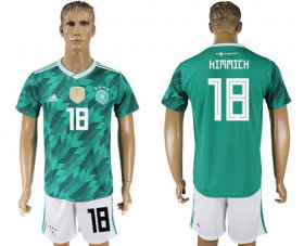 Wholesale Cheap Germany #18 Kimmich Away Soccer Country Jersey