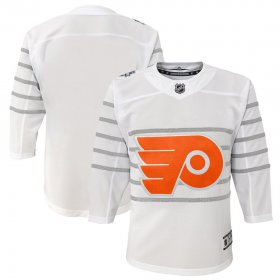 Wholesale Cheap Youth Philadelphia Flyers White 2020 NHL All-Star Game Premier Jersey