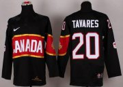 Wholesale Cheap Olympic 2014 CA. #20 John Tavares Black Stitched NHL Jersey