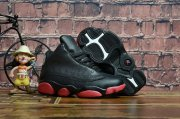 Wholesale Cheap Kids Air Jordan 13 Retro Dirty Bred Black/Red