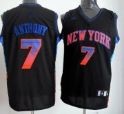 Wholesale Cheap New York Knicks #7 Carmelo Anthony 2012 Vibe Black Fashion Jersey