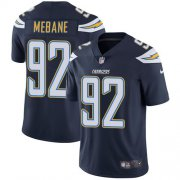 Wholesale Cheap Nike Chargers #92 Brandon Mebane Navy Blue Team Color Men's Stitched NFL Vapor Untouchable Limited Jersey