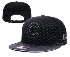 Wholesale Cheap MLB Chicago Cubs Snapback Ajustable Cap Hat YD 3