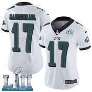 Wholesale Cheap Nike Eagles #17 Harold Carmichael White Super Bowl LII Women's Stitched NFL Vapor Untouchable Limited Jersey