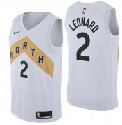 Wholesale Cheap Nike Toronto Raptors #2 Kawhi Leonard Black NBA Swingman City Edition Jersey